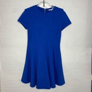 Diane von Furstenberg Back Zip Skater Dress az 12